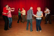 GB. England. Walsall. The Black Country. An area in the midlands, The Black Country gained its name in the mid nineteenth century due to the smoke from the many thousands of ironworking foundries and forges. Dancing at Saddlers Social Club. 2011.