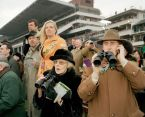 GB. ENGLAND. The Cheltenham Gold Cup. Spectators watching the horse races in Cheltenham. 2006.